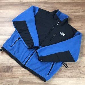The North Face Denali jacket, blue/black, sz L